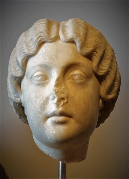 Portret Faustyny Młodszej, żony cesarza Marka Aureliusza