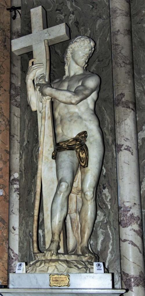 Michał Anioł, Chrystus Zmartwychwstały, bazylika Santa Maria sopra Minerva