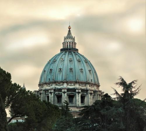 Michelangelo, dome of the Basilica of San Pietro in Vaticano