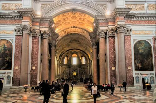 Michelangelo, design of the Church of Santa Maria degli Angeli