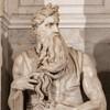 Michelangelo, statue of Moses, funerary monument of Julius II, Basilica of San Pietro in Vincoli