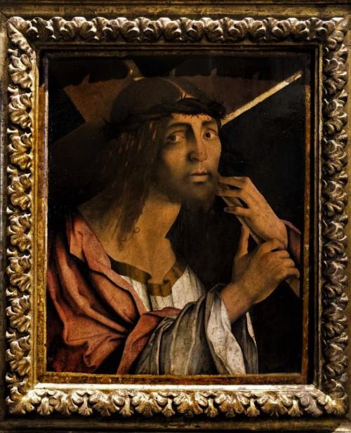 Chrystus niąsący krzyż, Bernardino Zaganelli, ok. 1470 r., Museo Nazionale - Palazzo Venezia