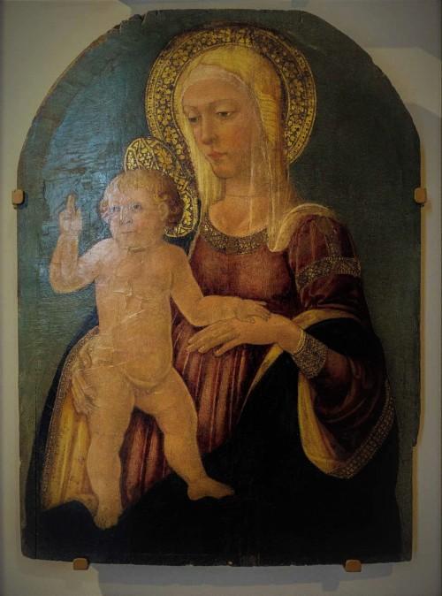 Madonna z Dzieciątkiem, Neri di Bicci, 2. poł. XV w., Museo Nazionale - Palazzo Venezia