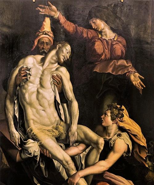 Zdjęcie z krzyża, Jacopino del Conte, Galleria Nazionale d'Arte Antica, Palazzo Barberini