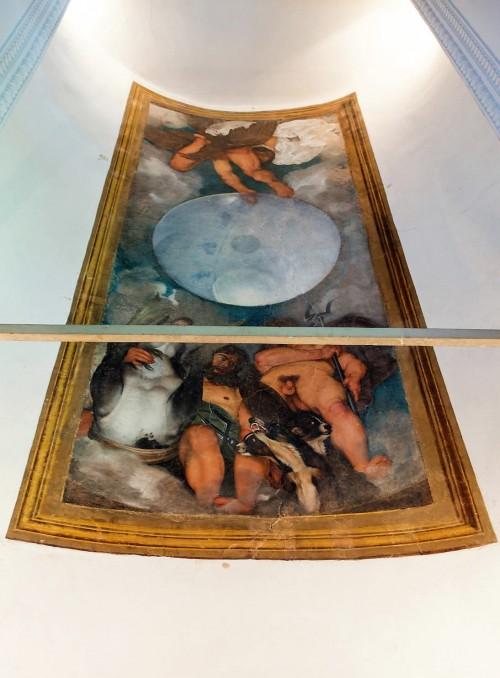 Casino Ludovisi, malowidło Caravaggia zlecone przez kardynała del Monte