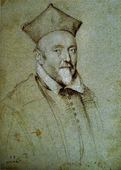 Francesco Maria del Monte, portrait of Ottavio Leoni, pic. Wikipedia, Book of Catherine Puglisi Cara