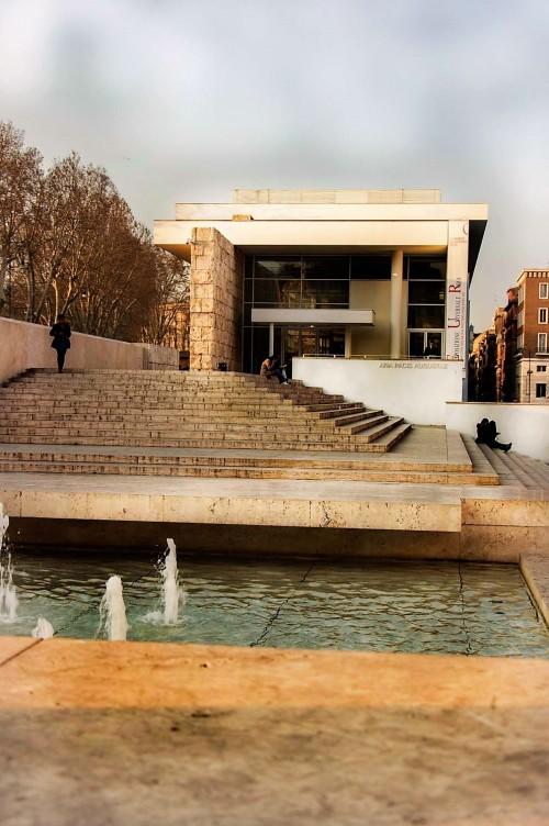 Museo dell'Ara Pacis, pawilon Richarda Meiera, 2006 r.