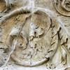 Ołtarz Pokoju, Museo dell'Ara Pacis, fryz z liśćmi akantu, dekoracja cokołu zewnętrznych ścian ołtarza