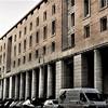 Piazza Augusto Imperatore, budynki z czasów Benito Mussoliniego