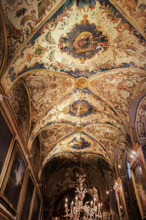 Palazzo Doria Pamphilj, galeria pałacowa, strop