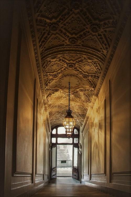 Palazzo Doria Pamphilj, jedna z klatek schodowych pałacu