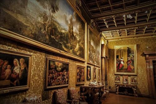 Palazzo Doria Pamphilj, sala Aldobrandini - jedna z sal muzeum