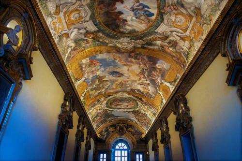 Palazzo Pamphilj, Galleria Serliana, malowidła Pietro da Cortony