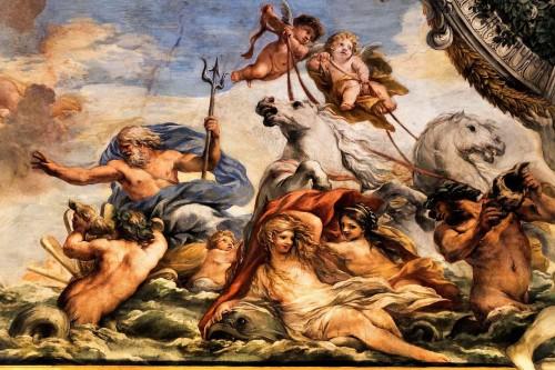 Palazzo Pamphilj, Galleria Serliana, Neptun uspokajający wiatry, Pietro da Cortona