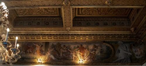 Palazzo Pamphilj, sala Historii Rzymu, Porwanie Sabinek, Giacinto Gimignani