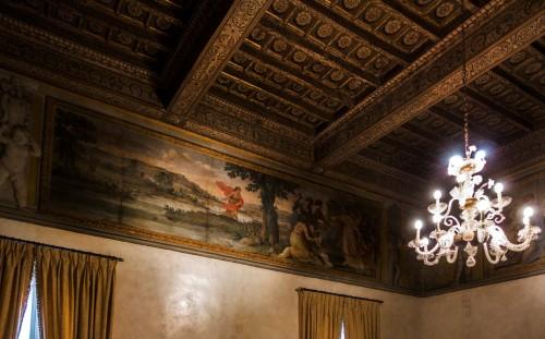 Palazzo Pamphilj, sala Mojżesza, Odnalezienie Mojżesza, Giacinto Gimignani