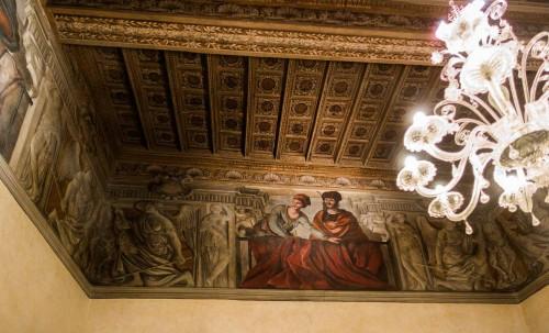 Palazzo Pamphilj, sala Orientalna, Francesco Mola