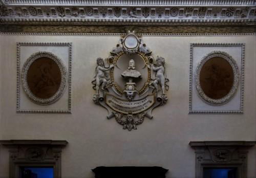 Palazzo Pamphilj, Sala Palestrina, popiersie papieża Innocentego X