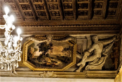 Palazzo Pamphilj, sala Pejzaży Morskich, Agostino Tassi