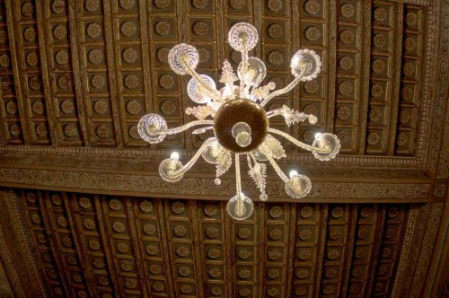 Palazzo Pamphilj, strop w  sali Mojżesza