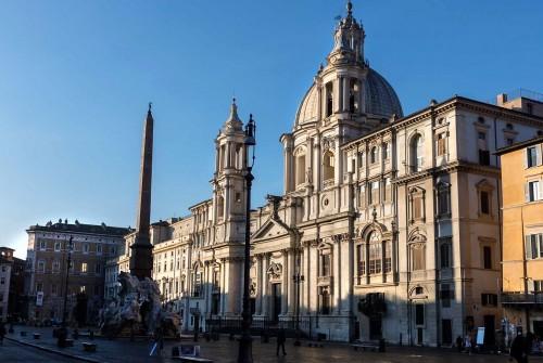 Kościół Sant'Agnese in Agone, fundacja Camillo Pamphilego i innych członków rodu