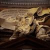 Kościół Sant'Andrea al Quirinale, inskrypcja upamiętniająca fundację kościoła przez Camillo Pamphilego