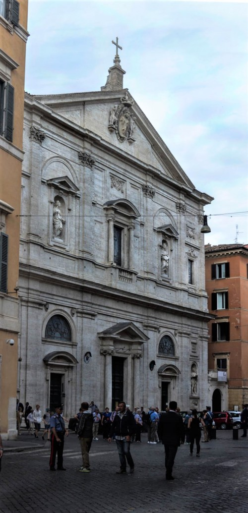 Giacomo della Porta, façade of the Church of San Luigi dei Francesi