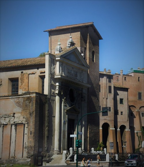 Giacomo della Porta, façade of the Church of San Nicola in Carcere
