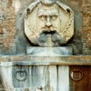 Giacomo della Porta, Fontana del Mascherone di Santa Sabina in front of the Church of Santa Sabina
