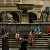Giacomo della Porta, fontanna na Piazza Santa Maria in Trastevere