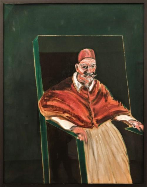 Portet papieża, Francis Bacon, Musei Vaticani