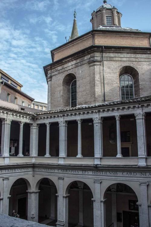 Donato Bramante, dziedziniec przy kościele Santa Maria della Pace