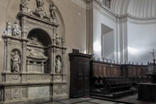 Donato Bramante, prezbiterium bazyliki Santa Maria del Popolo