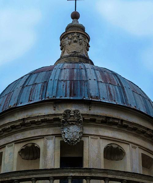 Donato Bramante, Tempietto (Kaplica Męczeństwa św. Piotra), kopuła