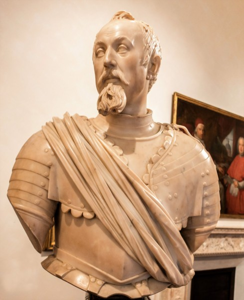 Bust of Carlo Barberini,  Francesco Mochi, 1630, Museo di Roma, Palazzo Braschi