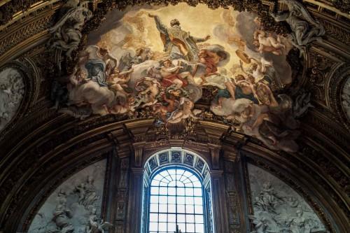 Il Gesù, freski Baciccia, Apoteoza św. Ignacego