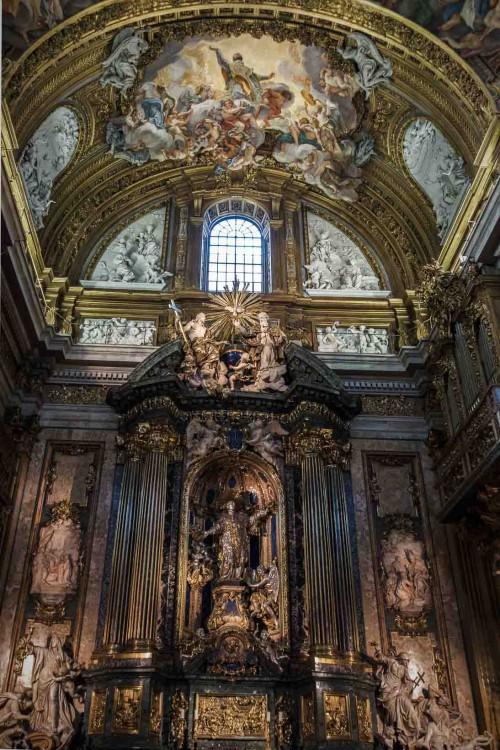 Il Gesù, kaplica św. Ignacego(Cappella Sant'Ignazio)