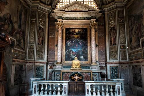 Il Gesù, kaplica Trójcy Świętej (Cappella della Santissima Trinita)