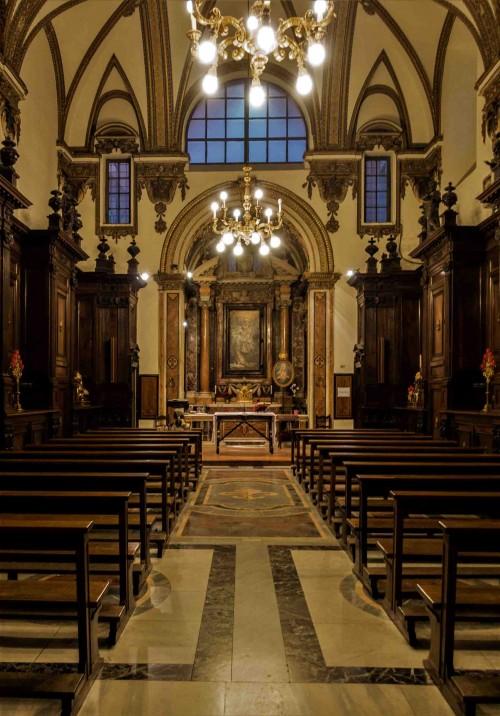 Il Gesù, Stara Zakrystia, projekt Girolamo Rainaldi, obecnie kaplica