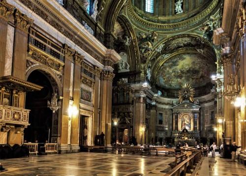 Il Gesù, wnętrze, projekt Jacopo da Vignola