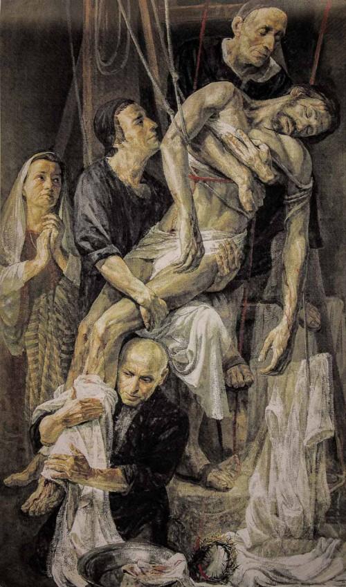 Il Gesù, Zdjęcie z krzyża, Safet Zec, kaplica Męki Pańskiej (Cappella della Passione)