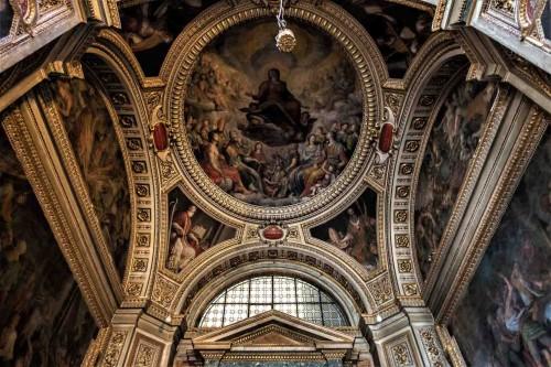 Il Gesù, zwieńczenie  kaplicy św. Andrzeja