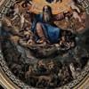 Il Gesù, dekoracja kopuły kaplicy Santissima Trinita (Trójcy Świętej)