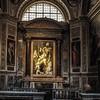 Il Gesù, kaplica Męki Pańskiej (Cappella della Passione), w ołtarzu Zdjęcie z krzyża - Safet Zec