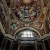 Il Gesù, kaplica św. Franciszka Borgii  z malowidłami Pomarancia