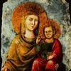 Il Gesù, Madonna della Strada, XIV w., obraz z pierwotnego kościoła noszącego to wezwanie
