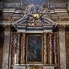 Il Gesù, ołtarz św. Franciszka Ksawerego w transepcie kościoła, Giacomo della Porta, Pietro da Cortona