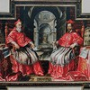 Church of Il Gesù, Portrait of two papal nepots – Alessandro and Odoardo Farnese, Old Sacristy