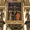 Il Gesù, Stara Zakrystia, dekoracja jednej ze ścian
