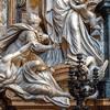 Il Gesù, Triumf Wiary nad Pogaństwem (fragment), Jean-Baptiste Theodon, kaplica Sant'Ignazio